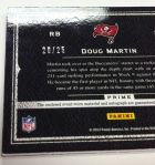 Panini America 2012 Playbook Football Doug Martin (5)