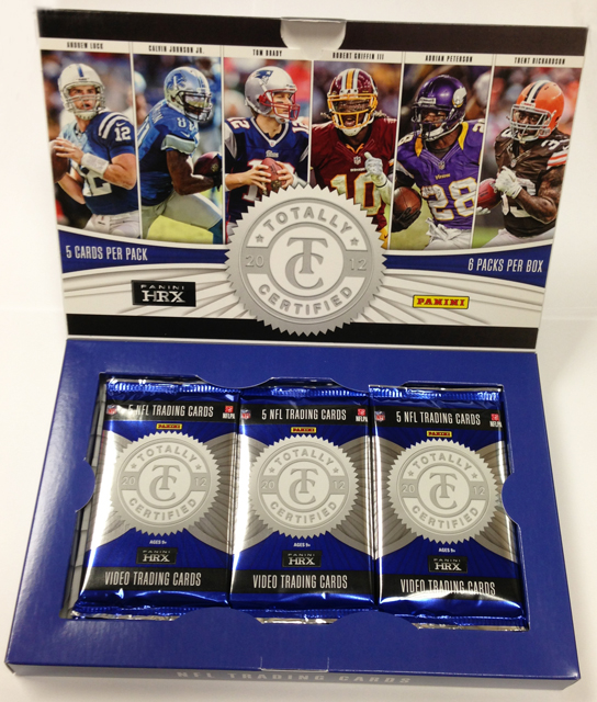 Panini America 2012 Totally Certified Football Teaser (2)
