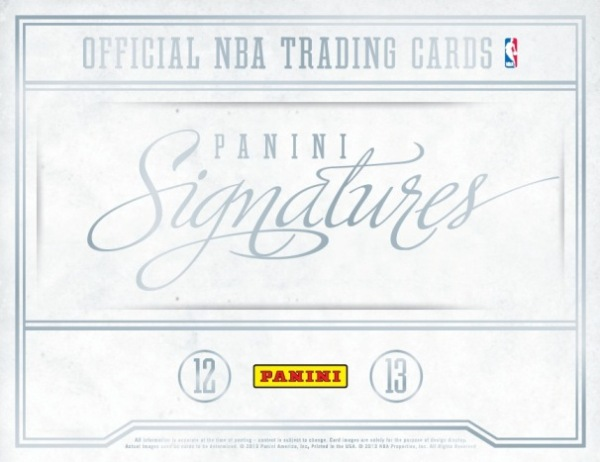2012-13 Signatures Basketball Main