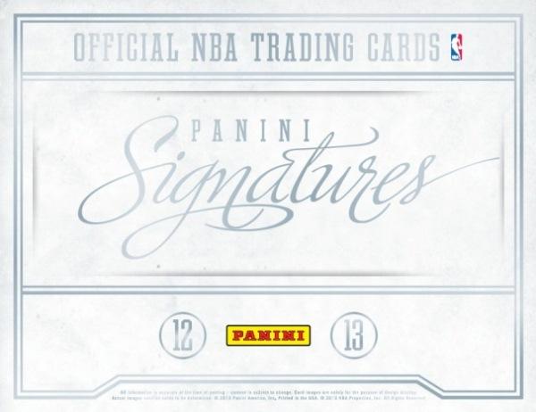 2012-13 Signatures Basketball Main