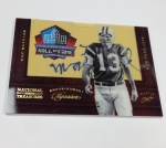 2012 National Treasures Football HOF Legends (22)