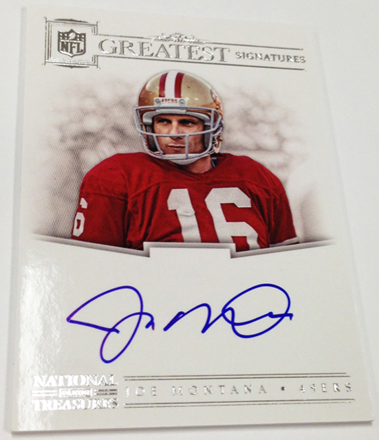 2012 National Treasures Football HOF Legends (4)