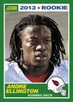 2013 Score Andre Ellington