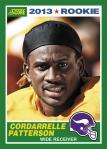 2013 Score Cordarralle Patterson