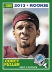 2013 Score Corey Fuller