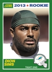 2013 Score Dion Sims