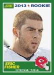 2013 Score Eric Fisher