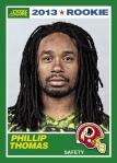 2013 Score Phillip Thomas