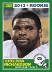 2013 Score Sheldon Richardson