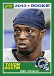 2013 Score Tavon Austin