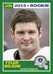 2013 Score Tyler Wilson