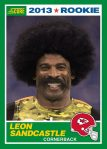 Leon Sandcastle Score Rookie Card Front Blog