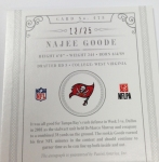 Panini America 2012 National Treasures Football QC Case (43)