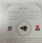 Panini America 2012 National Treasures Football QC Case (46)