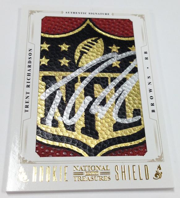 Panini America 2012 National Treasures Football Rookie Content (22)