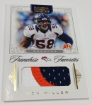 Panini America 2012 National Treasures Football Veteran Stars (43)