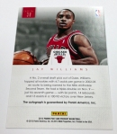 Panini America Jay Williams Back