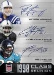 2013 Momentum Football Manning Woodson Taylor