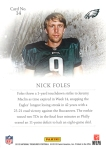 Gladiators Foles Back