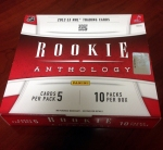 Panini America 2012-13 Rookie Anthology Hockey Live QC 1