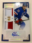 Panini America 2012-13 Rookie Anthology Hockey Live QC 30