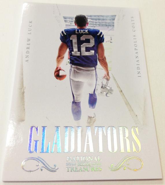 Panini America 2012 National Treasures Football Gladiators (6)