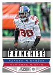 Panini America 2013 Score Football Future Franchise 21