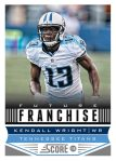 Panini America 2013 Score Football Future Franchise 31