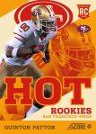 Panini America 2013 Score Football Hot Rookies 11