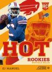 Panini America 2013 Score Football Hot Rookies 17
