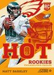 Panini America 2013 Score Football Hot Rookies 2
