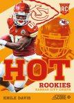 Panini America 2013 Score Football Hot Rookies 24