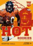Panini America 2013 Score Football Hot Rookies 26