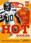 Panini America 2013 Score Football Hot Rookies 29