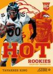Panini America 2013 Score Football Hot Rookies 33