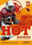 Panini America 2013 Score Football Hot Rookies 34