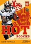 Panini America 2013 Score Football Hot Rookies 39