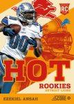 Panini America 2013 Score Football Hot Rookies 46