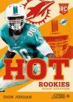 Panini America 2013 Score Football Hot Rookies 47
