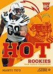 Panini America 2013 Score Football Hot Rookies 48