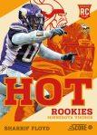 Panini America 2013 Score Football Hot Rookies 49