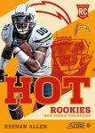 Panini America 2013 Score Football Hot Rookies 5