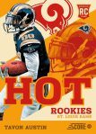 Panini America 2013 Score Football Hot Rookies 8