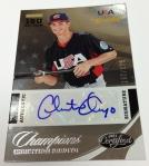 Panini America 2013 USA Baseball Champions Autos & Mem (12)