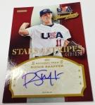 Panini America 2013 USA Baseball Champions Autos & Mem (37)