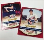 USA Baseball Highlights Inserts