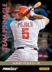 Panini America Team Pinnacle Pujols