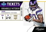 Panini America Tickets Patterson