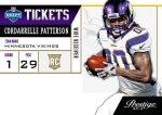 Panini America Tickets Patterson