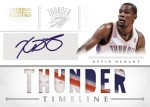 2012-13 National Treasures Basketball Durant